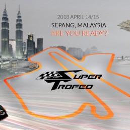 Illustrazione BeWoW Super Trofeo Sepang Malaysia